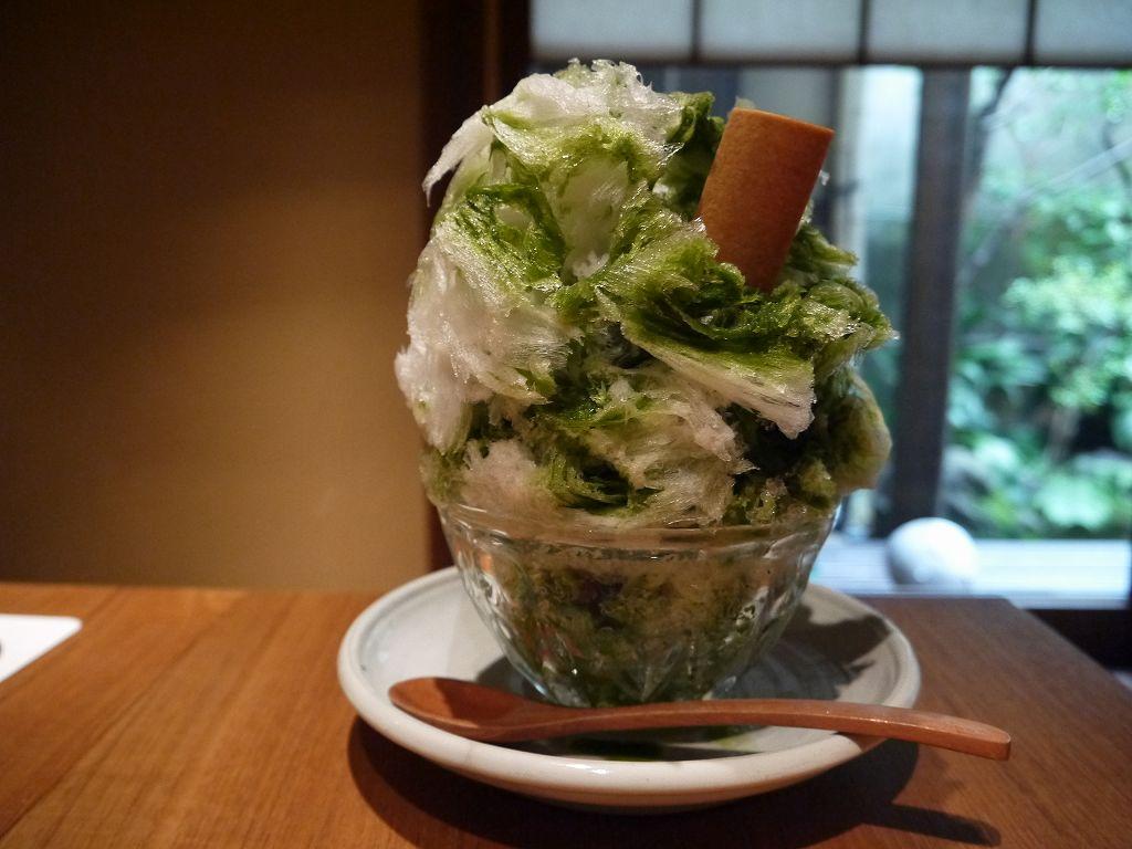 天然氷を使った!ふわシャリかき氷「祇園ニNITI・ニチ(京都市東山区)」