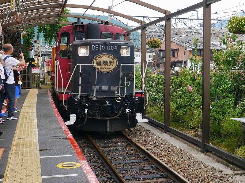 京都観光にお勧め!車窓景観と思い出作りに「嵯峨野トロッコ列車」