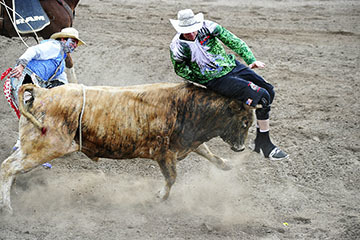 blog (6x4@300) Yoko 52 Last Stand Rodeo, Bull Riding 2, Ryan O'Masters (NS Hermiston, OR), Bull Fighters_DSC1832-5.25.18.(1).jpg