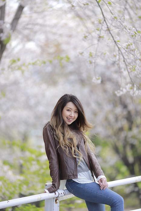 未来:桜バック11