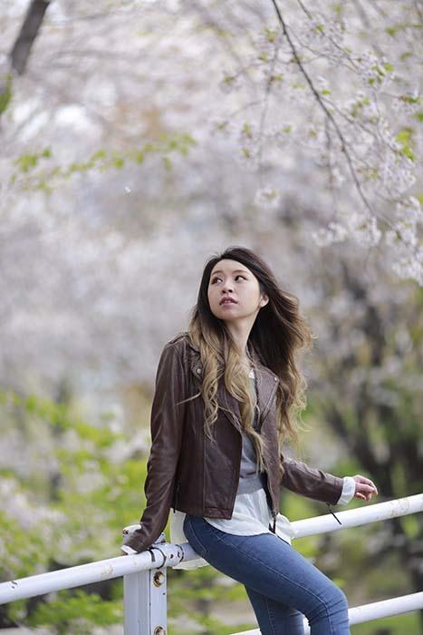 未来:桜バック12