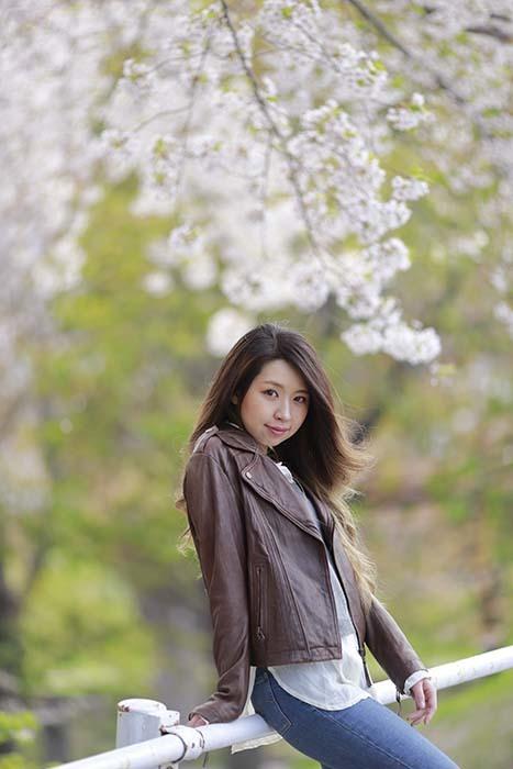 未来:桜バック14