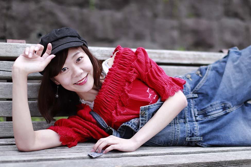 伊織:赤い服