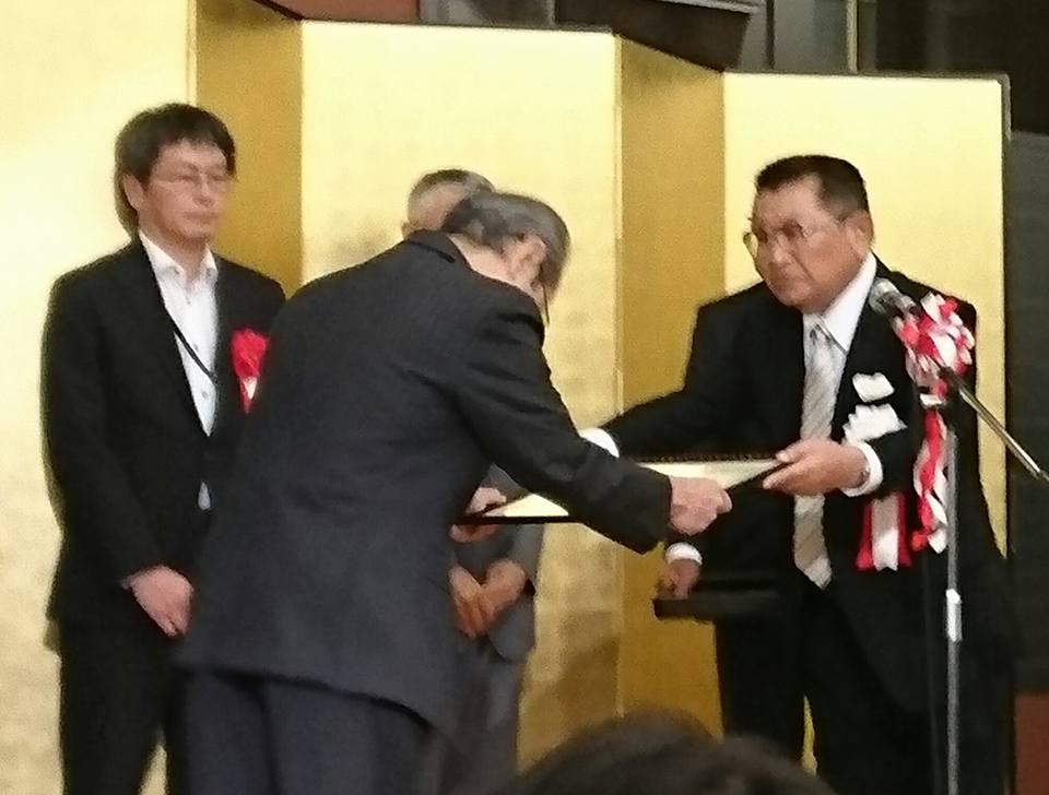 【津有南部の圃場整備事業の竣工会】-2