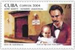 キューバ・マルティ生誕150年(父子)