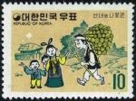 韓国・仙女と木こり②