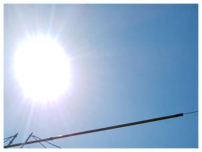 連日の猛暑