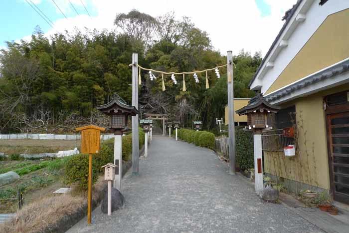 奈良の神社、仏閣   大神神社  38 (久延彦神社)