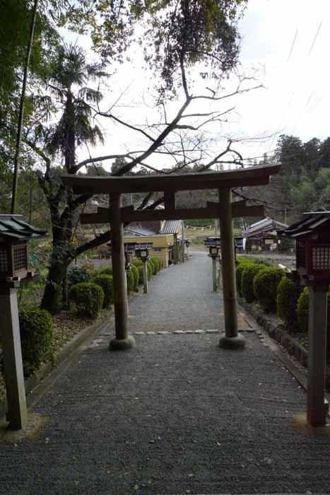 奈良の神社、仏閣   大神神社  41 (久延彦神社)