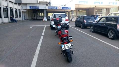 バイク車検2