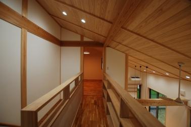 加藤様邸2階廊下