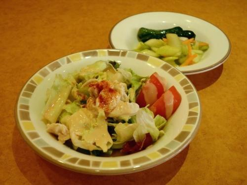 サラダ&ピクルス