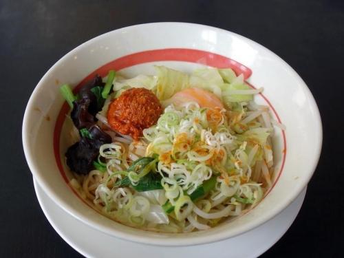 台湾野菜まぜめん(ピリ辛)