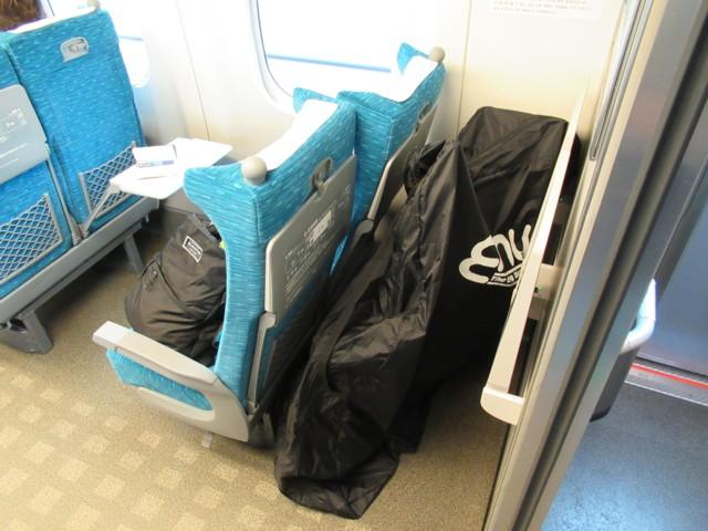 10月07日 車両最後部座席確保