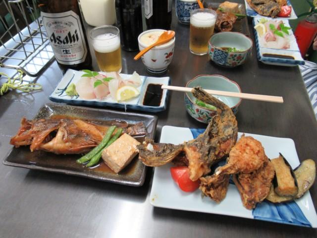 10月07日 魚は美味しかった