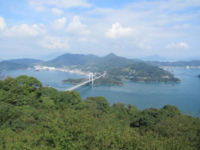 10月08日 カレイ展望台から大島大橋