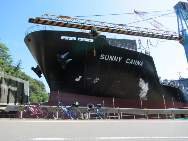 10月08日 伯方造船