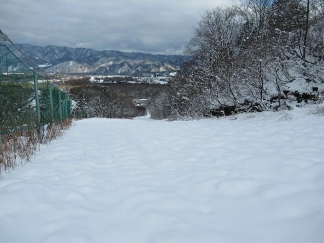 11月21日 重雪で全然滑らず
