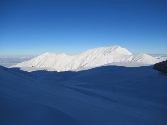11月27日 大日岳と奥大日岳