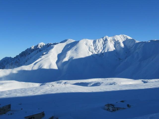 11月27日 剱岳と別山