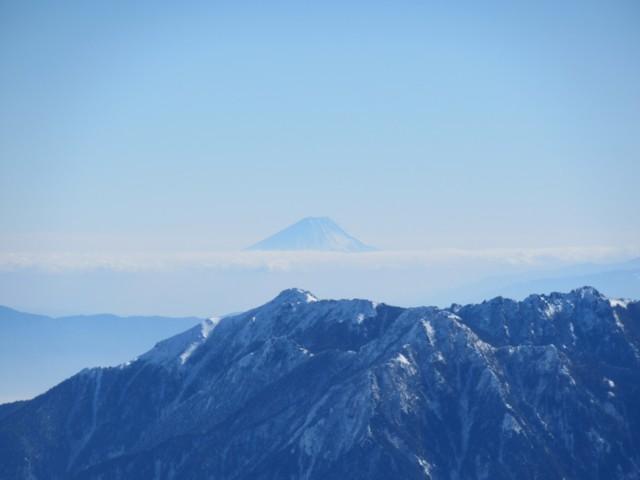 11月27日 富士山もバッチリ