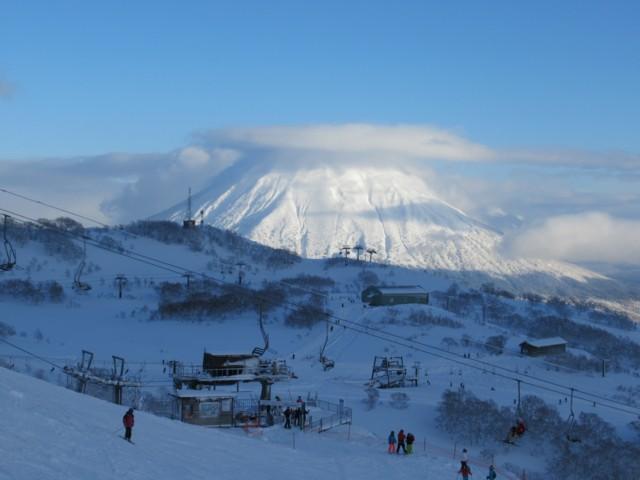 12月29日 羊蹄山も出た
