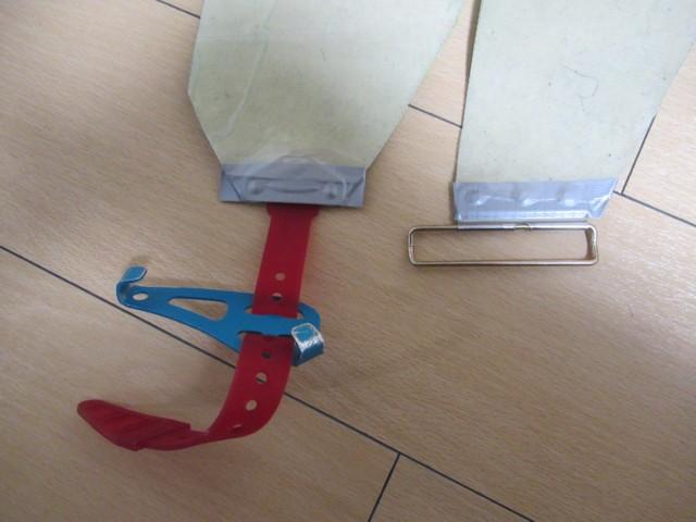 12月29日 両端はダクトテープで補修
