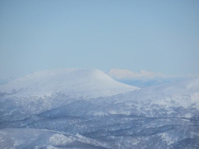12月31日 無意根山なめの旭岳