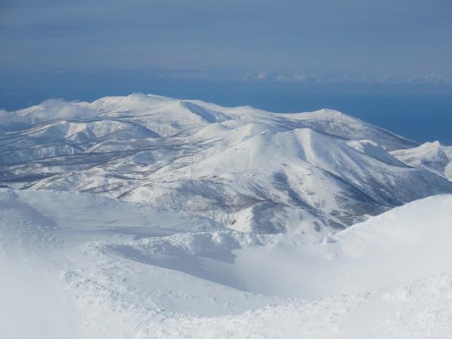 12月31日 目国内岳方面