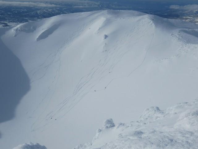 12月31日 羊蹄山父釜スキー場