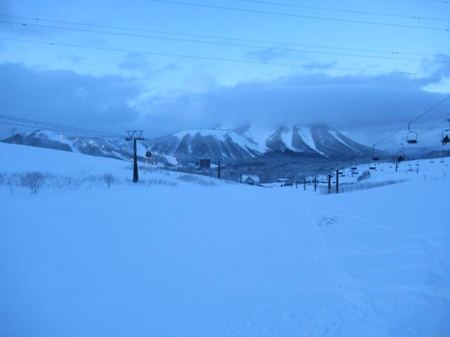 1月2日 尻別岳とウエストエリア