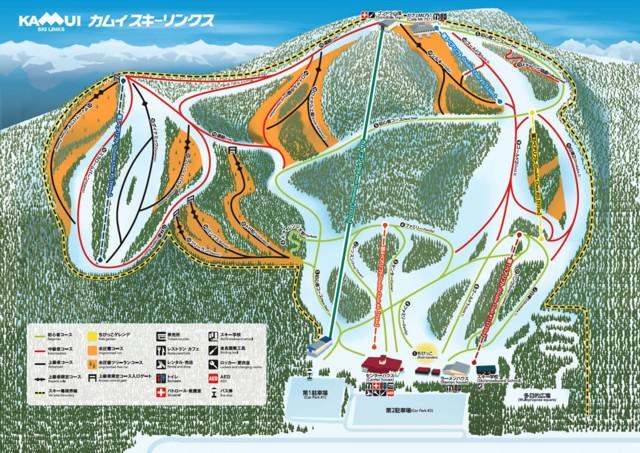 1月3日 コースマップ