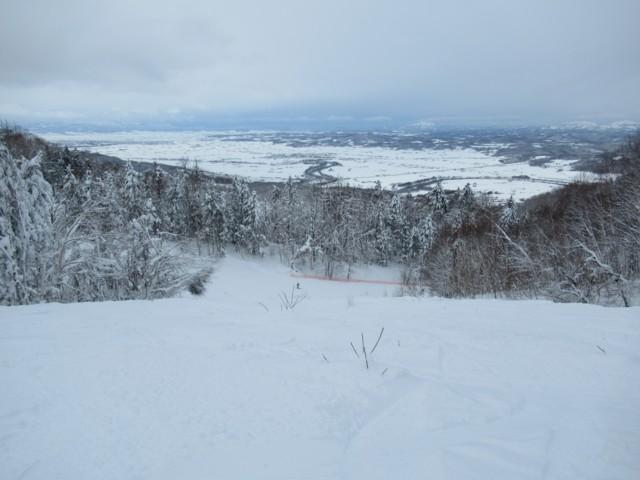 1月3日 平野が北海道っぽい