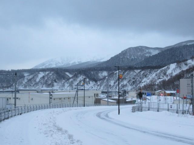 1月5日 利尻山は真っ白