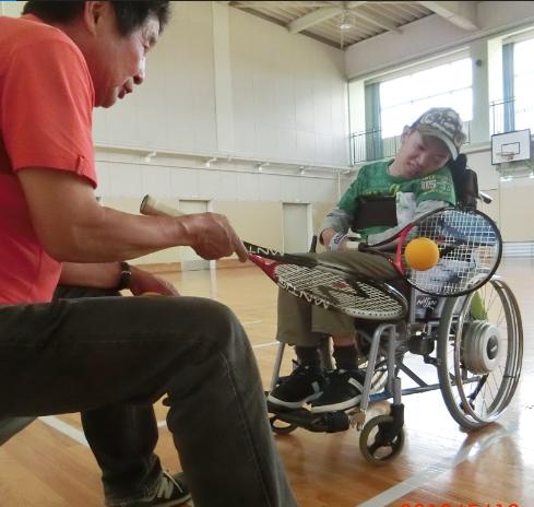 宇井くんのテニス