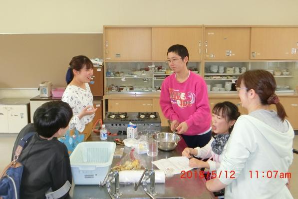 料理班と山田さん