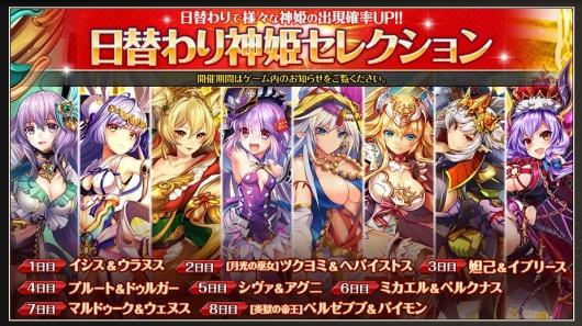 日替わり神姫セレクション20180713