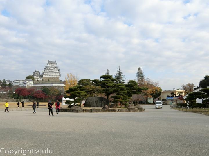 姫路城 広場