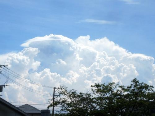 夕方の入道雲12日